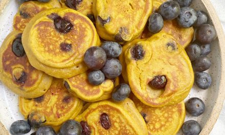 sweet potato blueberry pancakes scaled - Recipes