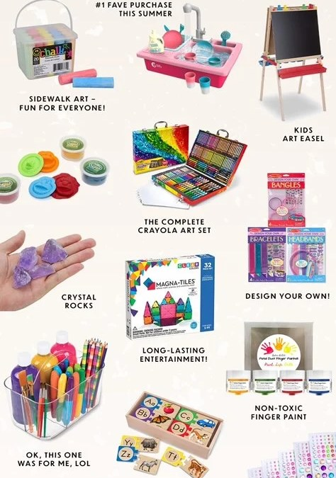 Stuff from Amazon that's keeping my kids busy this summer at home
