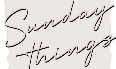 Sunday Things 2 - Recipe Index