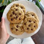 Vegan Gluten-Free Banana Bread Chocolate Chip Cookies