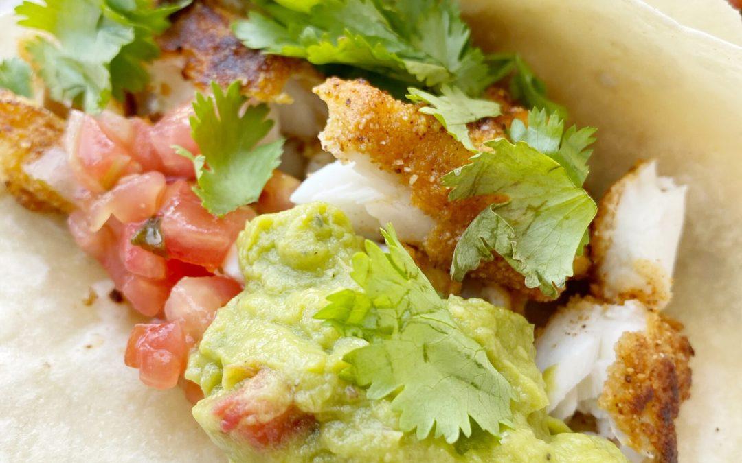 Paleo Crispy Fish Tacos