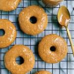 Paleo Apple Cider Donuts with a Salted Caramel Glaze