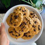 pumpkin cookies scaled - Chocolate Chip Pumpkin Cookies