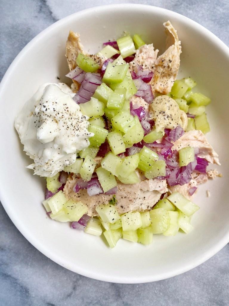 tuna2 768x1024 - The Best Healthy Tuna Salad