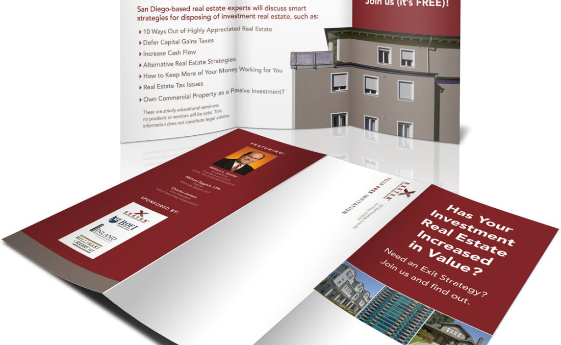 Exeter Real Estate Exit Strategy brochure