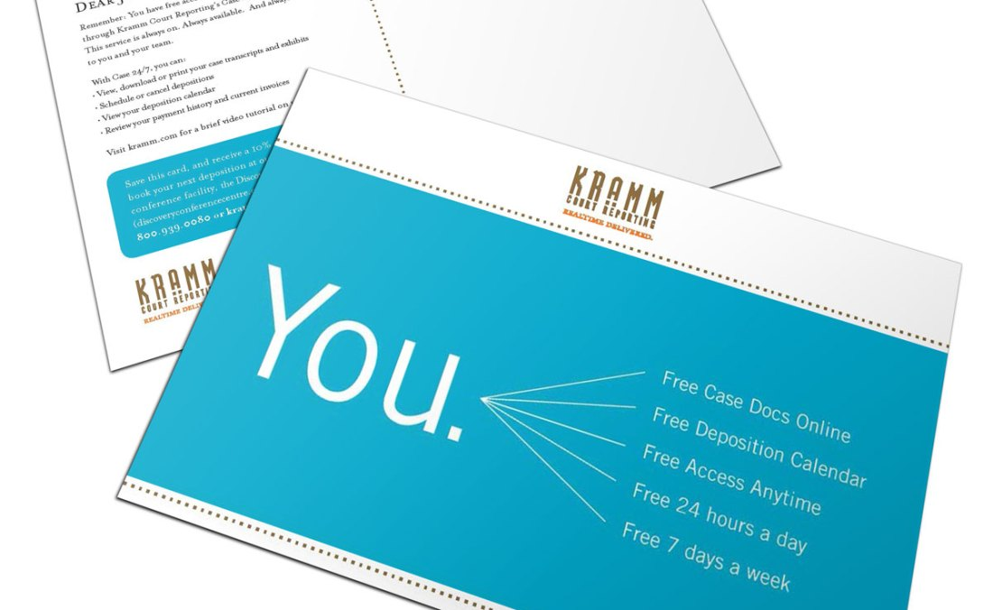 "Kramm ""You"" direct mail"
