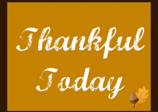 Thankful Today- Day 4