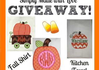 Simply Made with Love GIVEAWAY!!!