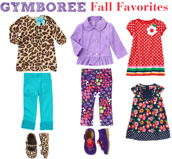 Gymboree Fall Favorites