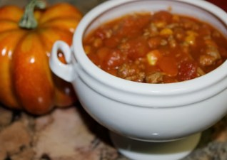 Pumpkin Chili & What's Cooking!