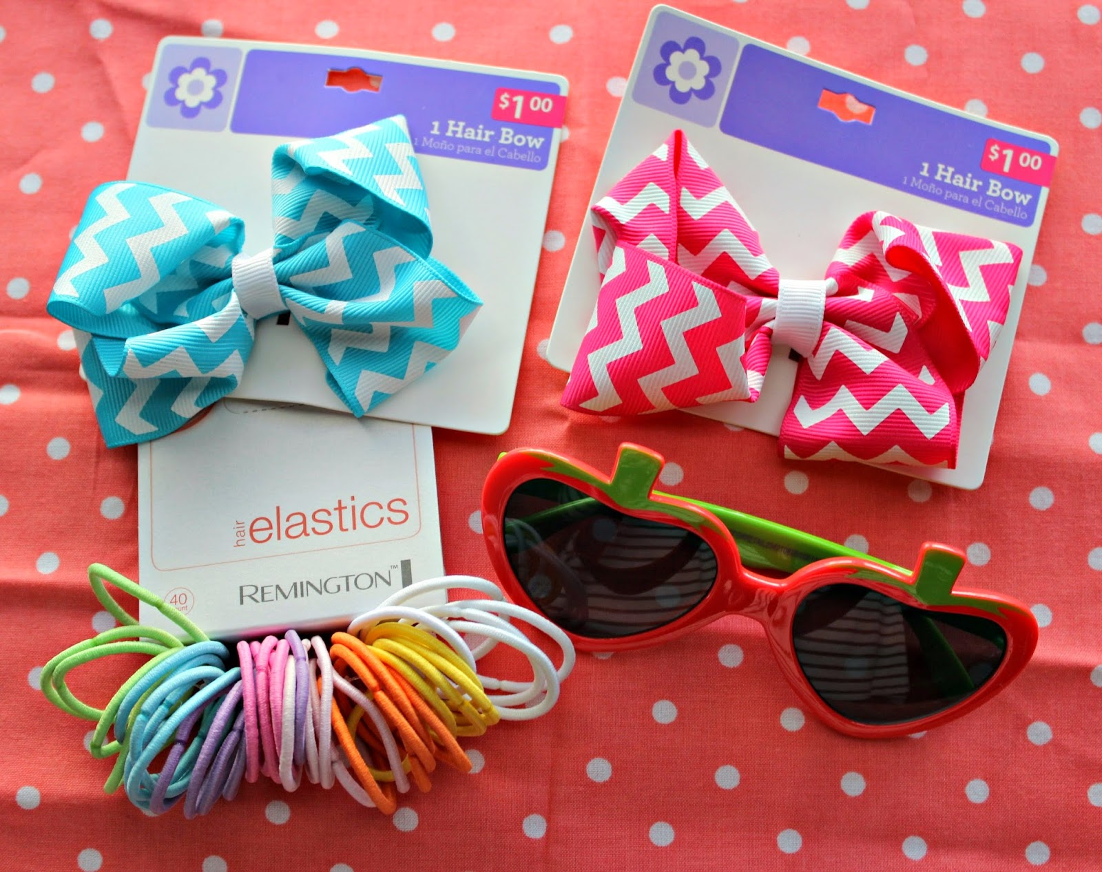 Easters on its way easter basket blog hop these bows were just 1 at walmart i cant even make them for that cheap we go through elastics like we go through cheerios around negle Choice Image