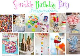 2nd Birthday Inspiration- Sprinkles Ice Cream Party