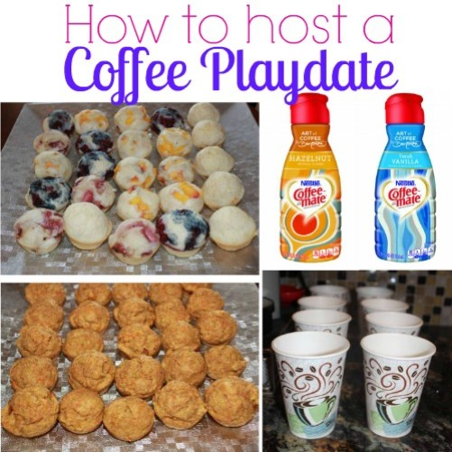 coffee playdate