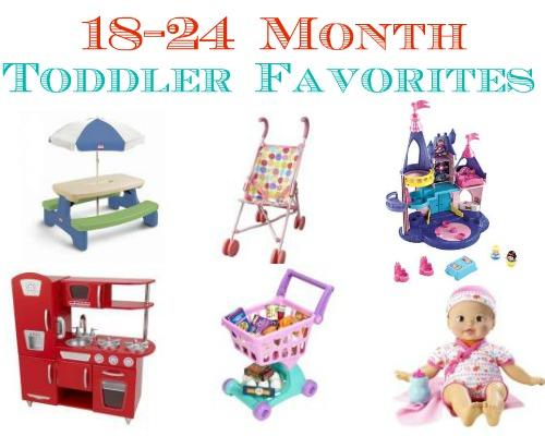 18-24 month toddler favorite toys