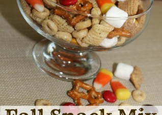 {Mommy School} Pumpkin Activities & Fall Snack Mix