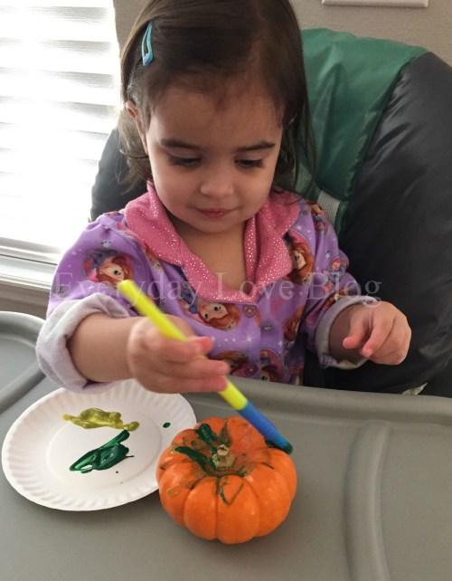 pumpkin painting 3