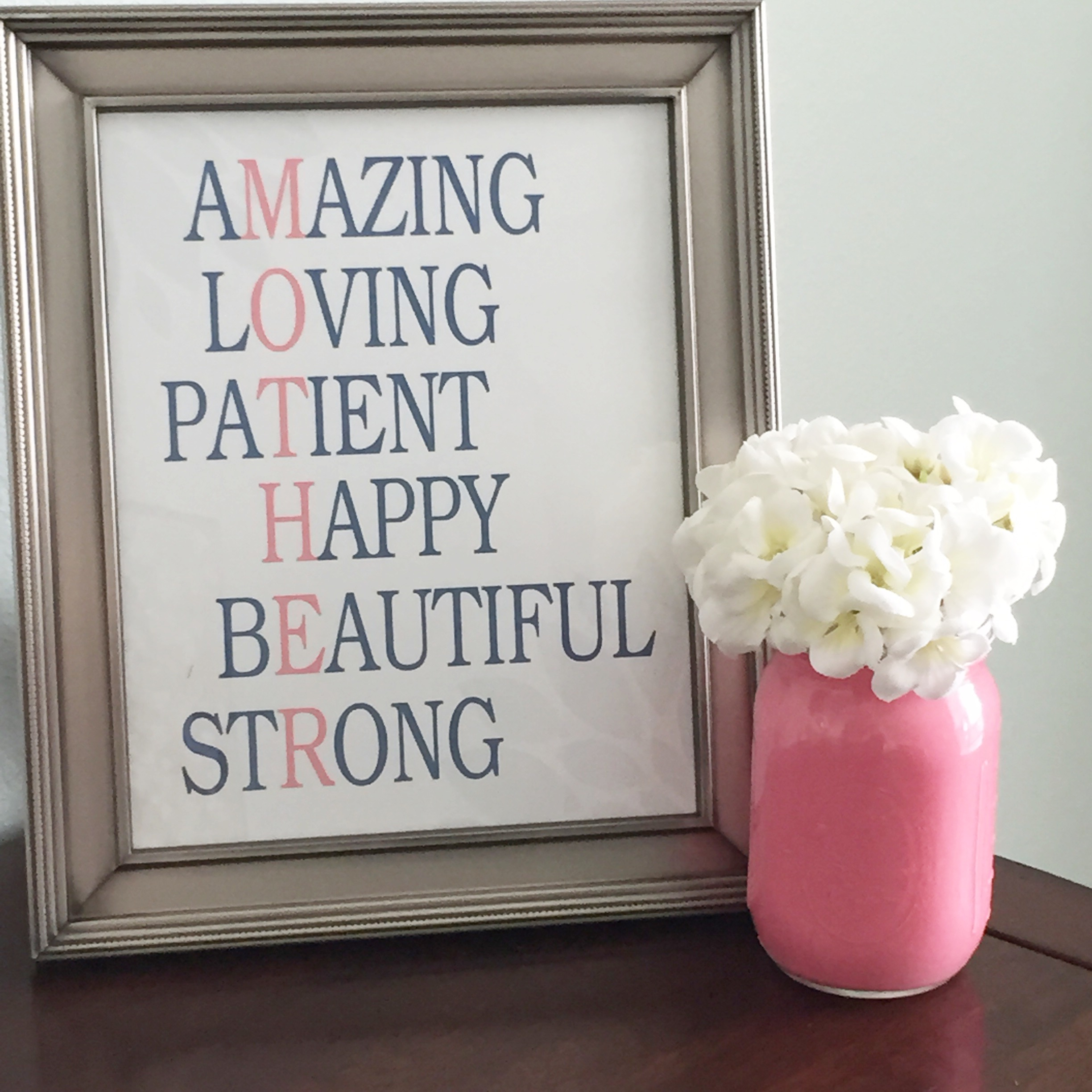 Nice Presents For Mom Part - 20: Amazing Gifts For Mom Part - 35: Motheru0027s Day Printable