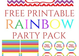 Protected: AG's 3rd Birthday- Rainbow Theme