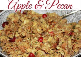 Cranberry, Apple & Pecan Stuffing