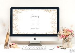 10 Free January Desktop Wallpapers