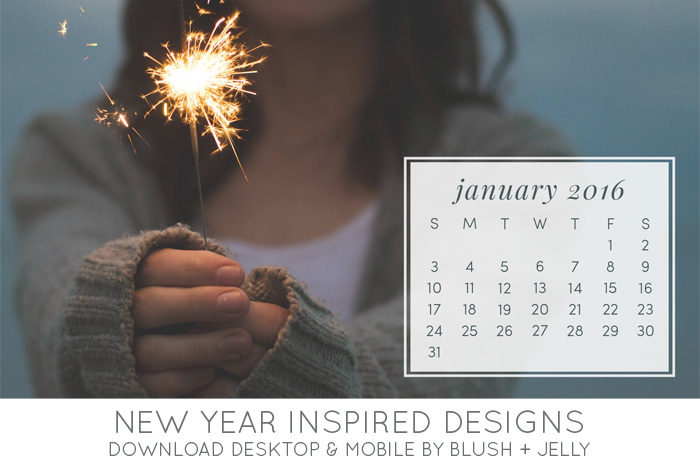 10 Free January Desktop Wallpapers - Leah With Love