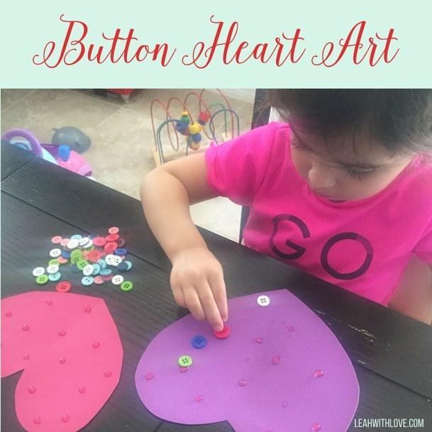 Button Heart Art
