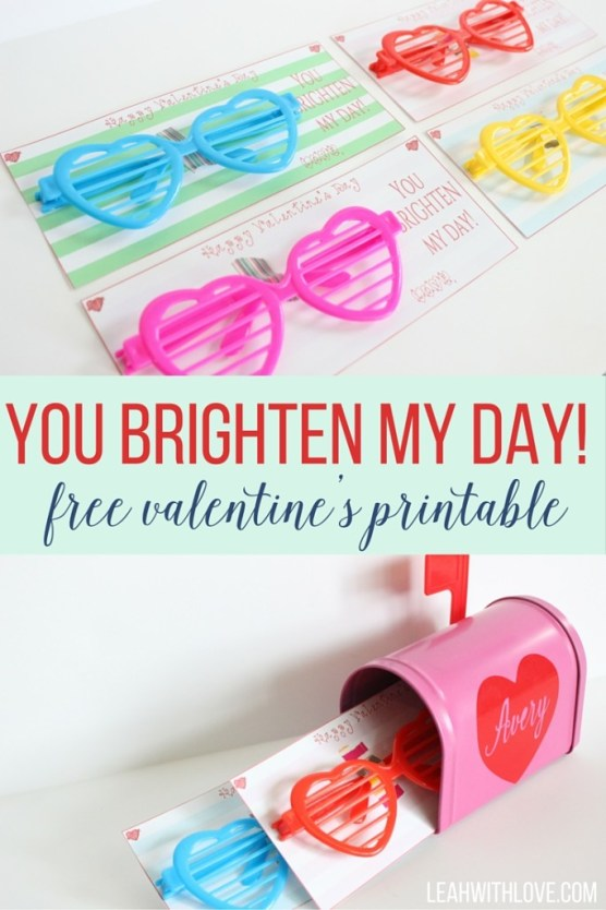 You Brighten My Day, Valentine!