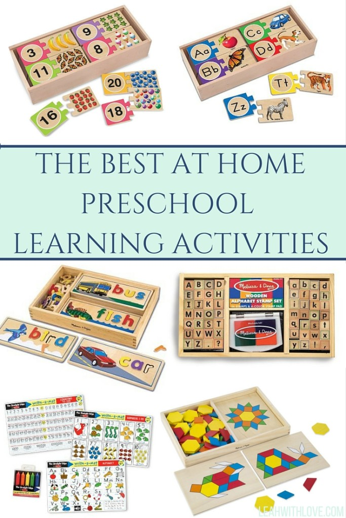 Favorite Preschool Learning Tools - Leah With Love
