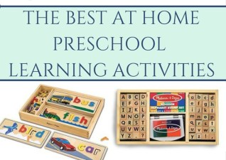 Favorite Preschool Learning Tools