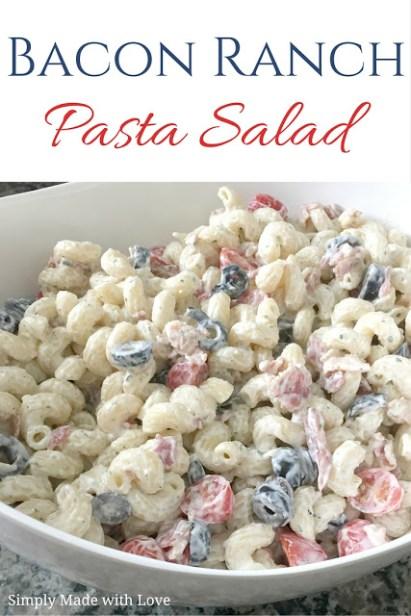BaconRanchPasta Salad (2)