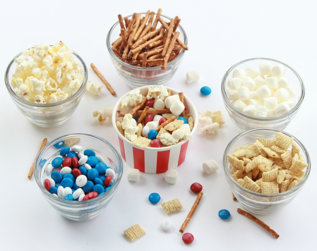 all american chex mix