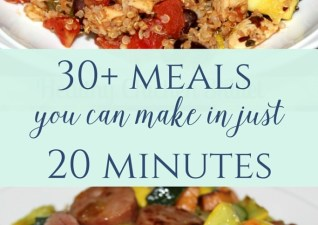 30 Dinners in 20 Minutes or Less