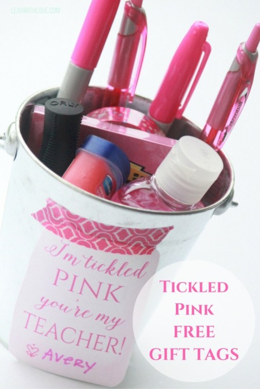Tickled PinkFREEGIFT TAGS