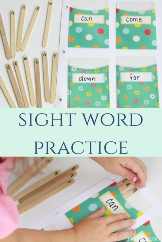 sight wordpractice