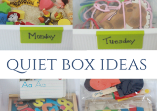 Preschool Quiet Boxes
