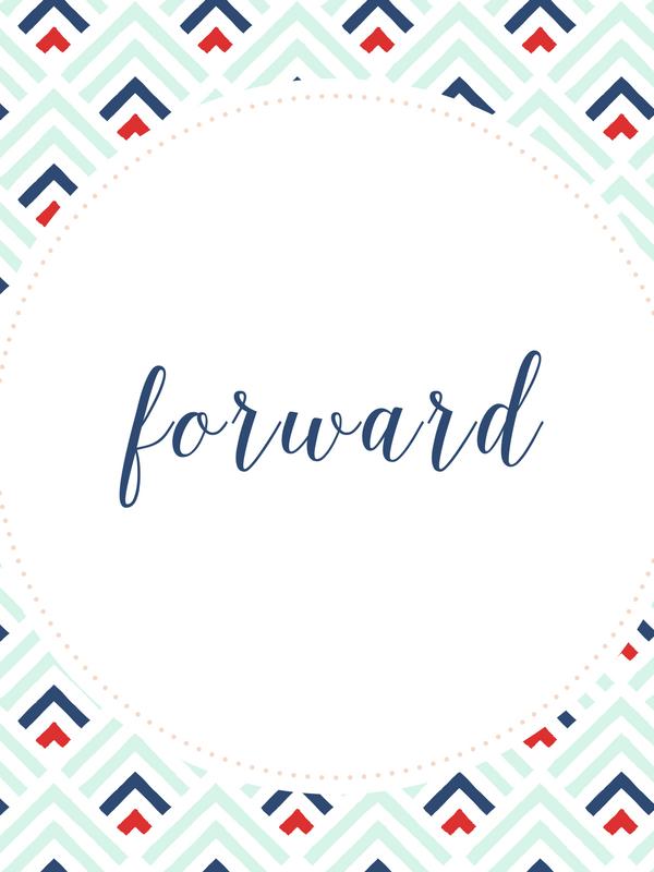 One Word 2017- Forward
