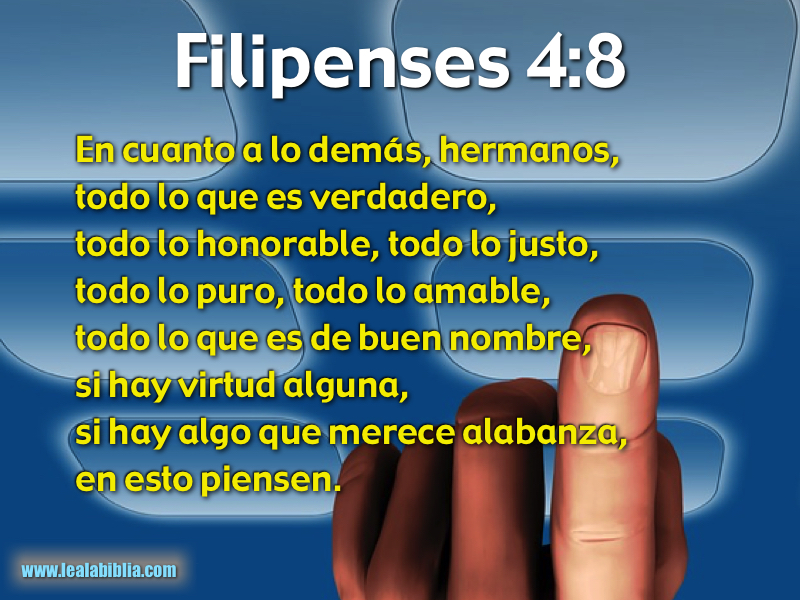 Filipenses 4:8