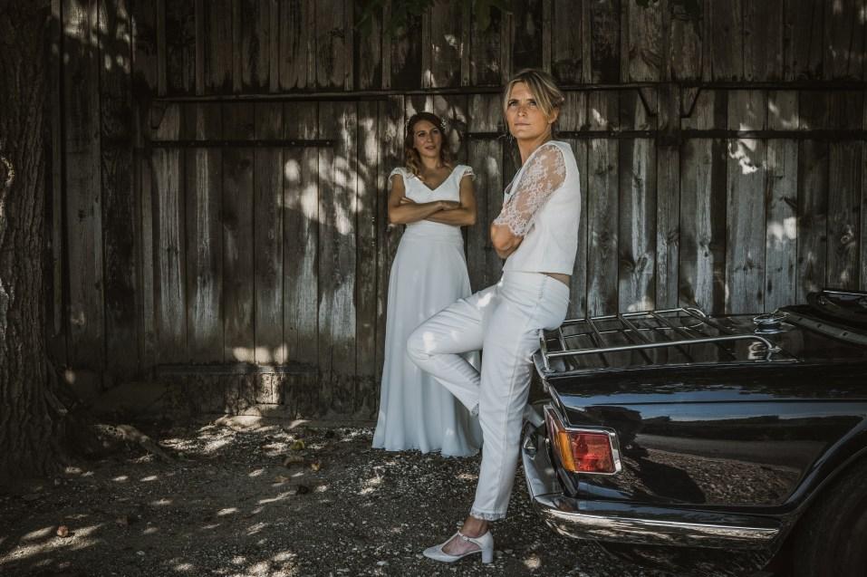 photo de mariage same sexe