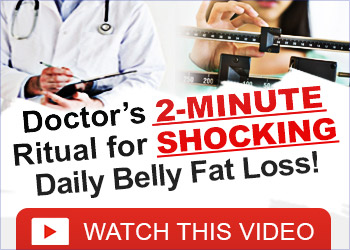 Do this 2 minute ritual to lose 1 pound of belly fat every 72 hours