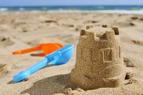 Beach games for kids-the anchors