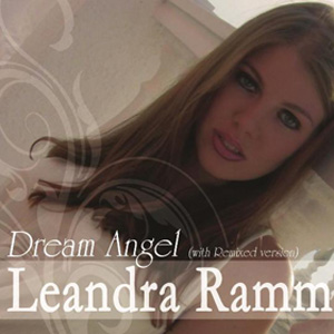 Leandra Ramm picture, wearing white dress for Dream Angel Album Cover