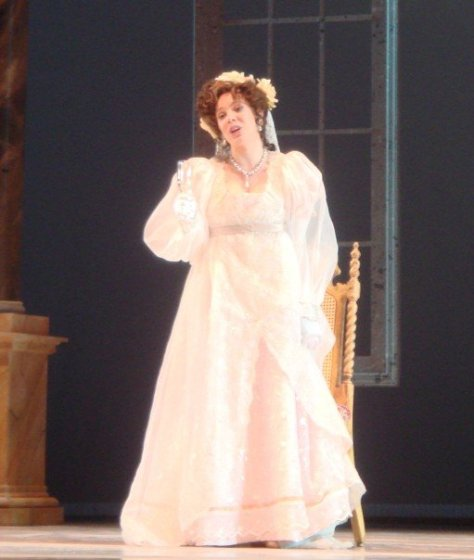 Cosi fan Tutte with Prelude to Performance - Leandra wearing a white gown