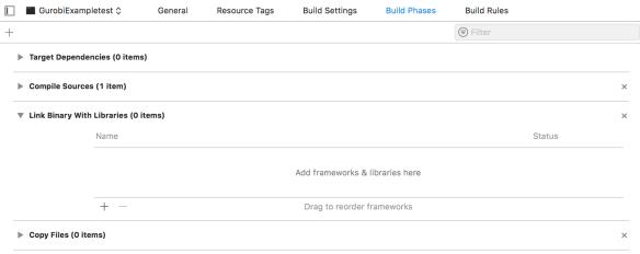 How to: setup Gurobi in Apple Xcode (C++) - Prof  Leandro C