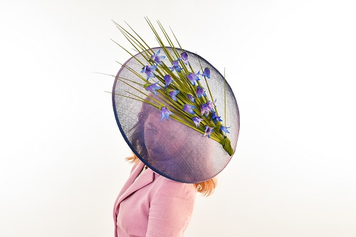 Scottish Harebell Large Brimmed Hat
