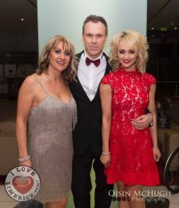 My Lovely aunt Mary Joyce, my lovely friend Richard Lynch and me (Leanne Moore)