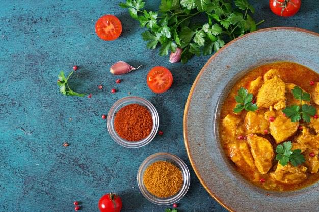 Homemade Sweet Potatoe Curry