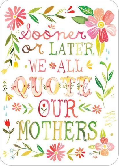 Quoting Mom