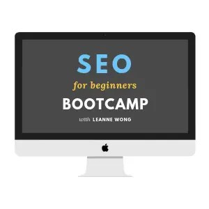 BOOTCAMP SEO FOR BEGINNERS-LEANNEWONG