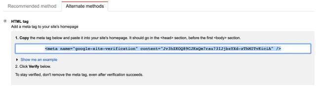 html-meta-tag-search-console