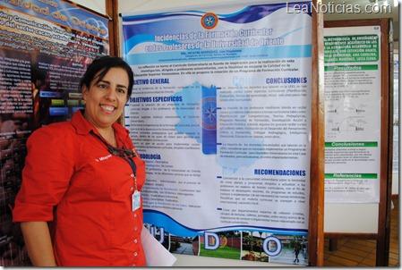 Prof. Ines Mitayne, delegadad Currícula UDO Monagas